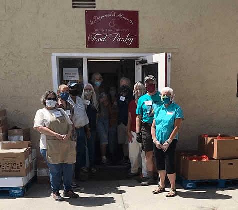 Volunteers Pantry Recipient Support