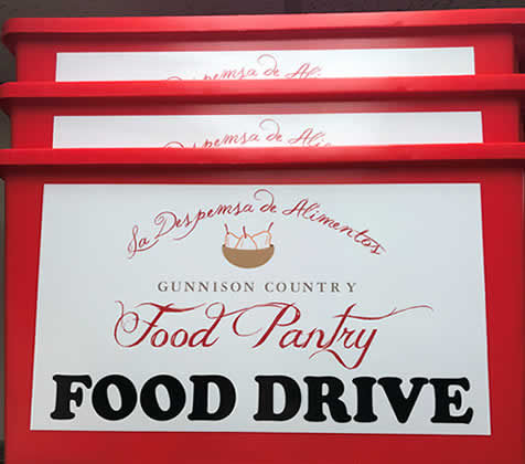 Red Bucket Food Drive