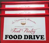 GCFP Food Drive Drop Buckets